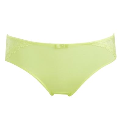 黛安芬-超值美選Bra-M-EL-高腰配褲-棕櫚綠