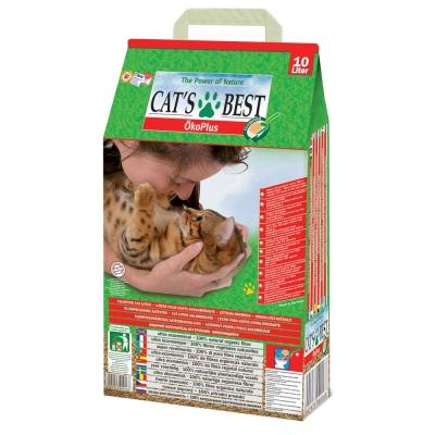 德國凱優CAT'S BEST 低粉塵細顆粒 凝結木屑砂-紅標10L