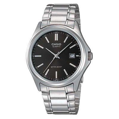CASIO 羅馬時尚精緻紳士腕錶(MTP-1183A-1A)-黑/38.5mm
