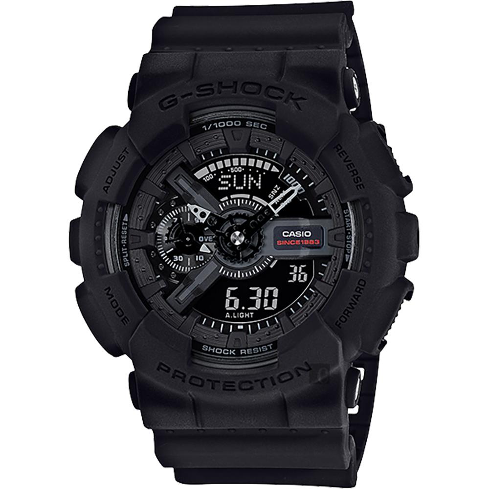 CASIO卡西歐G-SHOCK 35周年紀念錶款宇宙大爆炸雙顯錶55mm