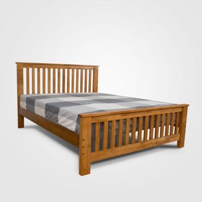 日木家居 Duane杜安雙人5尺實木床台/床架