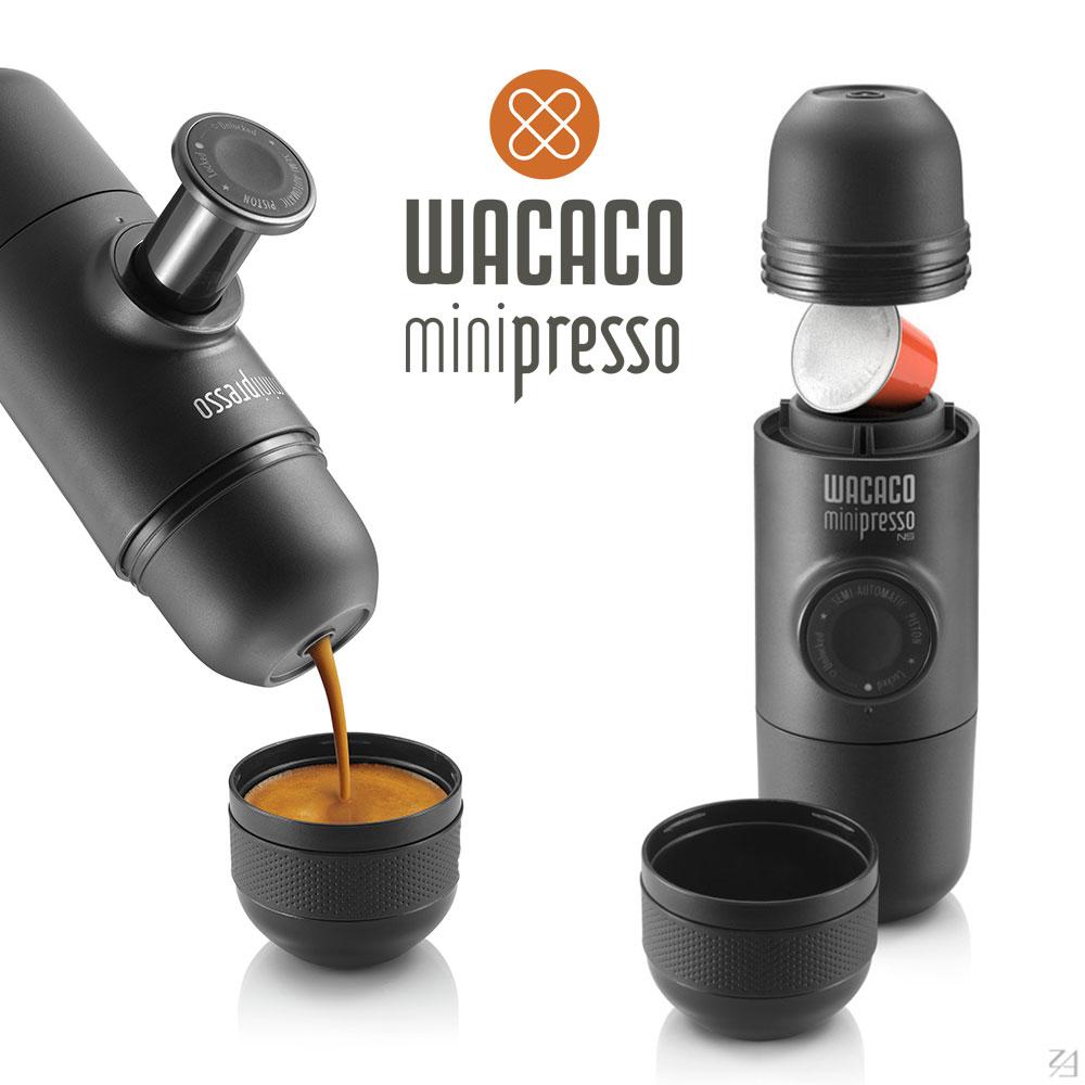香港WACACO Minipresso-NS 迷你濃縮咖啡機膠囊款(8H)