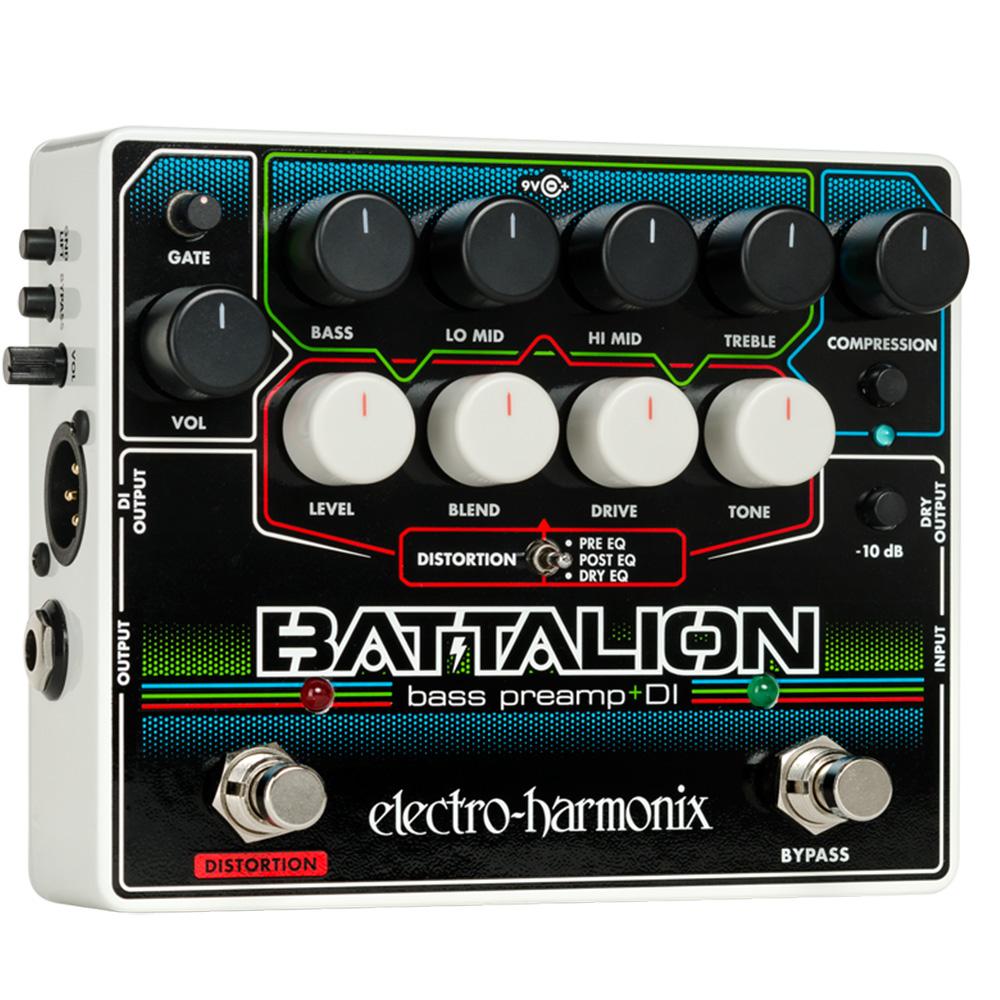 Electro Harmonix Battalion 貝斯效果器