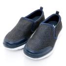 Xcess-女休閒鞋GW027NVY-深藍