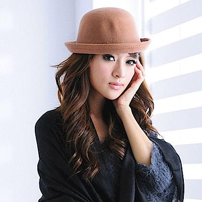 Aimee Toff 優雅氣度永雋精品紳士帽(棕)