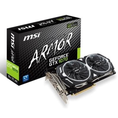 MSI微星 GeForce GTX 1070 ARMOR 8G OC 顯示卡