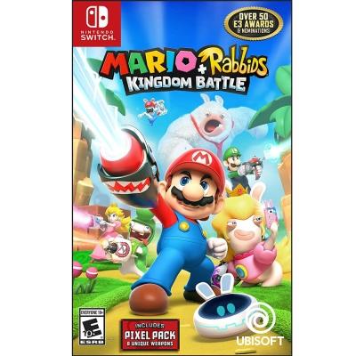 瑪利歐 + 瘋狂兔子 王國之戰 Mario - Nintendo Switch 中英文美版