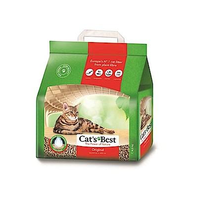 【四包】德國凱優凝結木屑砂4.3kg(紅標-10L)