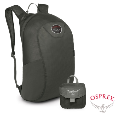 【OSPREY】Ultralight Stuff Pack 18L 超輕量壓縮隨身包_灰