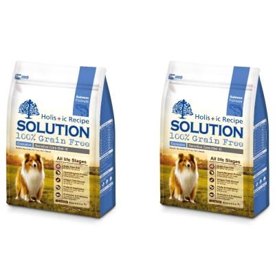 SOLUTION 耐吉斯 成幼犬無穀 大西洋鮭魚 低敏柔膚 16磅 7.2kg X 2包