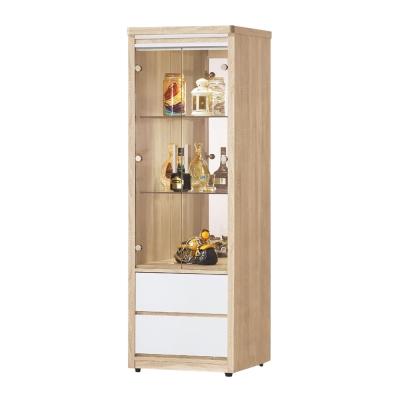 Bernice-伊妮2.1尺展示收納櫃-62x47x185cm