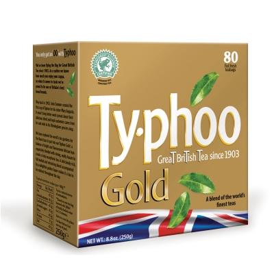 TYPHOO 黃金特選紅茶(80入/盒)