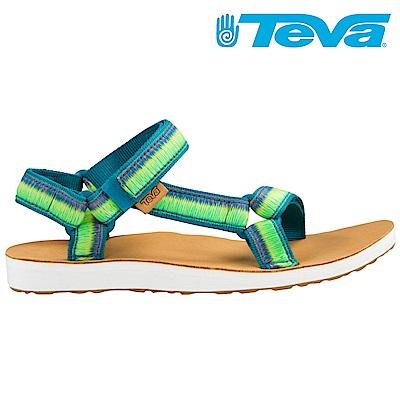 TEVA ORIGINAL UNIVERSAL OMBRE 女休閒涼鞋 藍綠