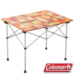 Coleman 31292自然風蛋捲桌/90  鋁合金休閒桌/露營桌/摺疊桌/野餐桌 公司