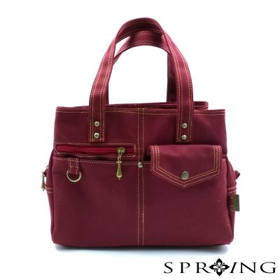 SPRING-MIT帆布包手提包