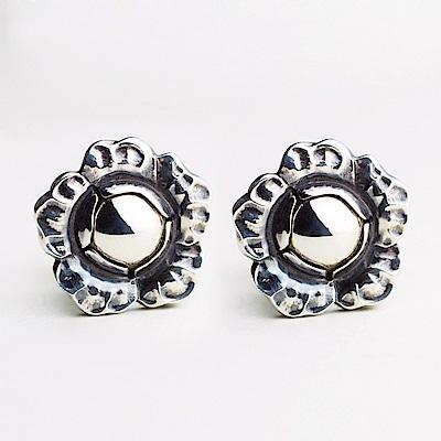 Georg Jensen 2002年度銀石夾式耳環