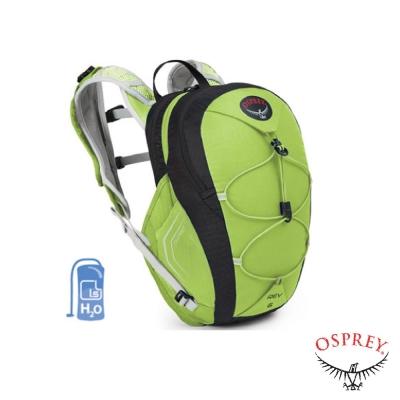 【美國 OSPREY】新款 REV 6 多功能水袋背包_閃爍綠