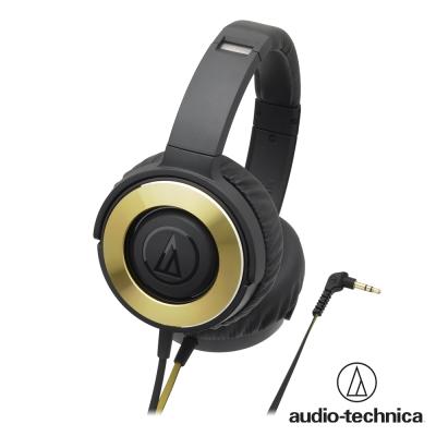 鐵三角 ATH-WS 550  SOLID BASS重低音便攜型耳罩式耳機