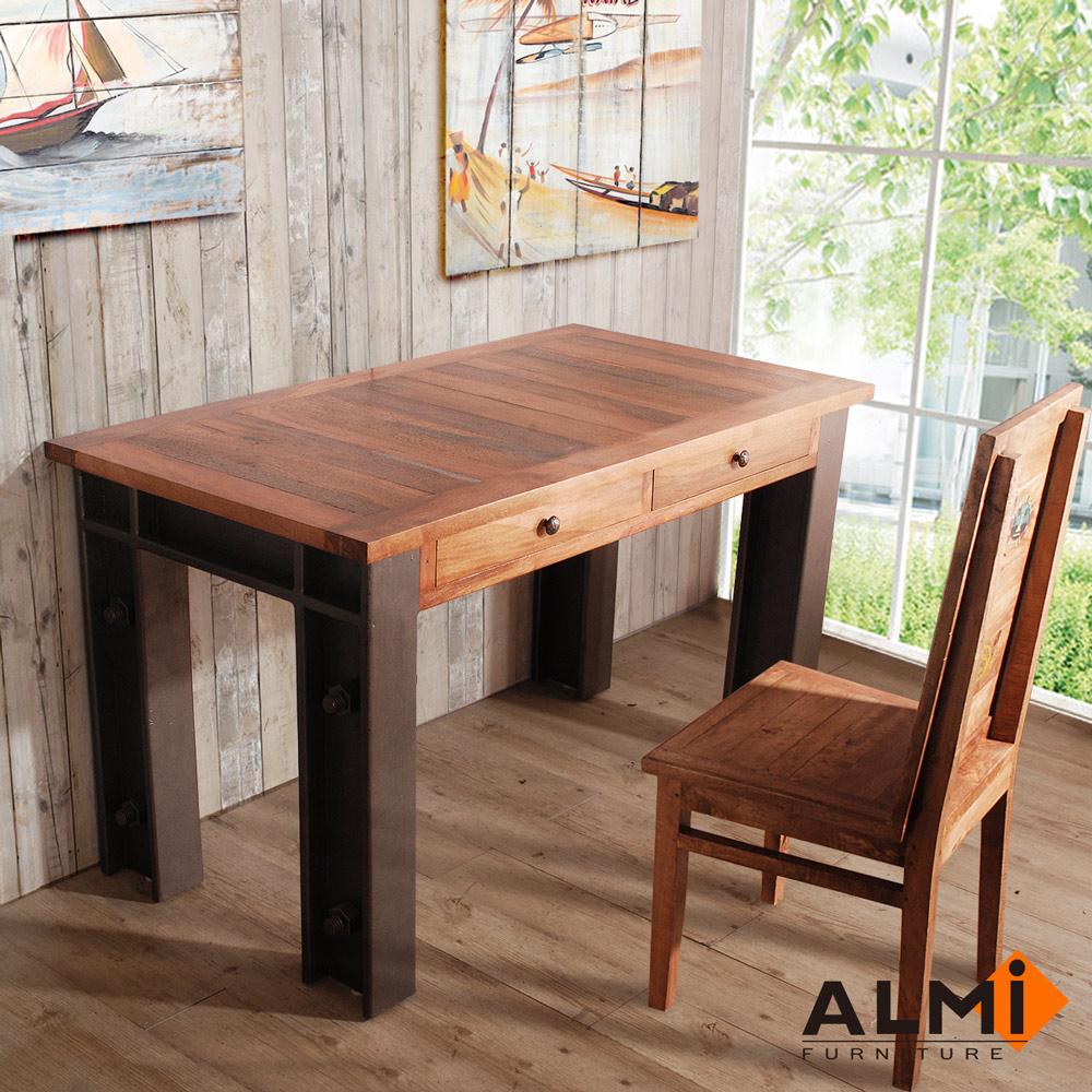 ALMI-TABLE CUISINE 工業風工作桌W130*D70*H75CM