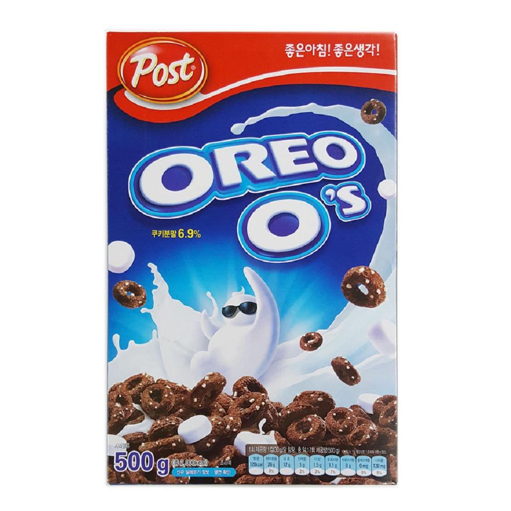 韓國POST OREO奧利奧巧克力棉花糖早餐麥片500g