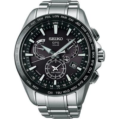 SEIKO ASTRON GPS 衛星太陽能電波腕錶(SSE077J1)-45mm