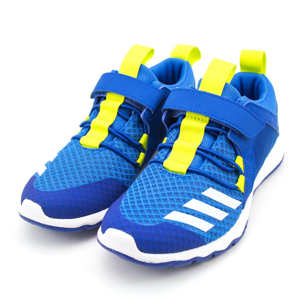 24H-ADIDAS-中童鞋CQ0100-藍