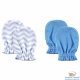 Luvable Friends 藍色幾何款嬰兒手套手襪套二件組 product thumbnail 1