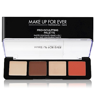 MAKE UP FOR EVER 專業4色修容盤#20 4X2.5g