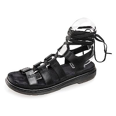 (女) Dr.Martens KRISTINA 綁帶羅馬涼鞋*黑色