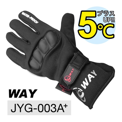 WAY JYG- 003 A+ 防摔、透氣、保暖、防風、防滑、防水、耐寒手套多用途合一