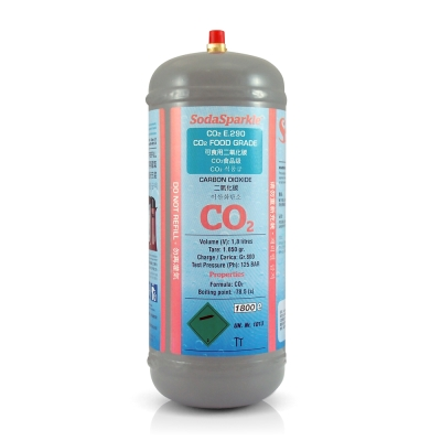 BigSparkle大器款專用CO2鋼瓶SS-BS-SC