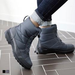 正韓製羽絨太空棉抽繩輕量雪靴