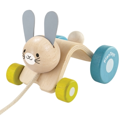 手拉車-GMP BABY PLANTOYS 跳跳兔