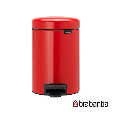Brabantia NEWICON環保垃圾桶-3L熱情紅