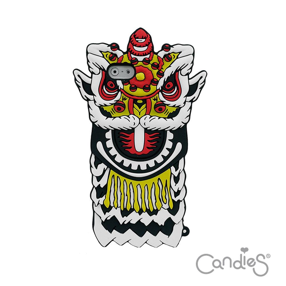 Candies iPhone6/6s(4.7)猴年限定獅王爭霸手機殼(白)