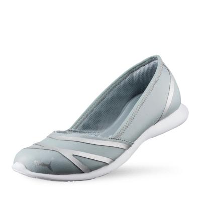 PUMA Puma Vega Ballet SL女性復古休閒鞋-石頭灰