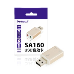 Uptech  USB音效卡-SA160