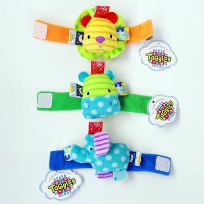 可愛立體寶寶鈴鐺腕帶手錶【3入】