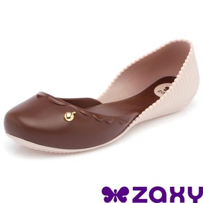 【ZAXY 巴西】杯子蛋糕休閒娃娃鞋 (巧克力)