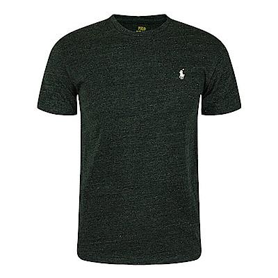 Polo Rlaph Lauren 經典刺繡小馬短袖素面T恤-深灰色