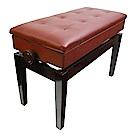 BANGDE YX106 BRN 鋼琴升降專用琴椅 褐色含書箱加長款