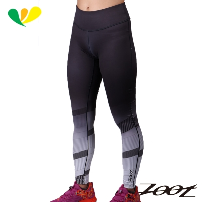 ZOOT 玩美超彈力緊身長褲(速線白)(女) Z1604070
