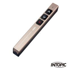 INTOPIC 廣鼎 2.4GHz無線雷射簡報筆(MS-LR26/金色)