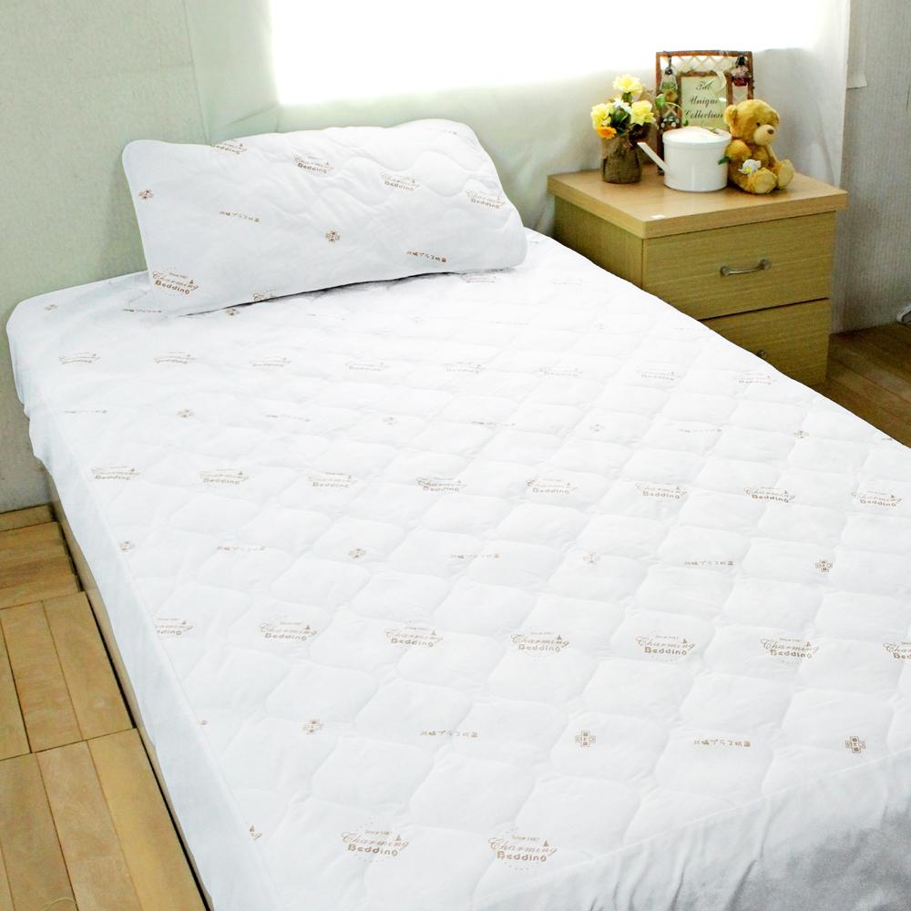 bedtime story 雙效!!日本SEK超強PU防水保潔墊(一般雙人加高床包式)