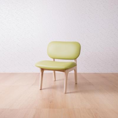 簡約風 菲特萊姆綠休閒椅-62x60x74cm