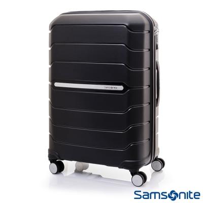 Samsonite新秀麗 28吋Octolite PP極輕量時尚雙輪TSA硬殼行李箱(黑)