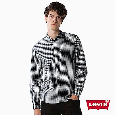 Levis 格紋襯衫 男裝 單口袋