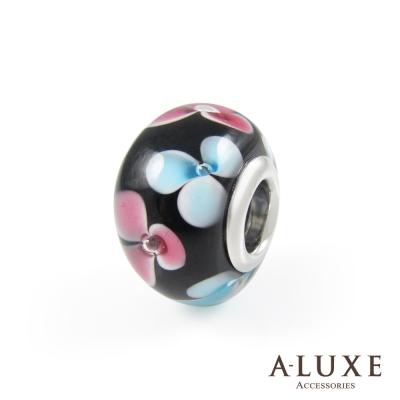 Charming系列 925純銀珠飾- 琉璃珠-和風花卉 Kimono Girl