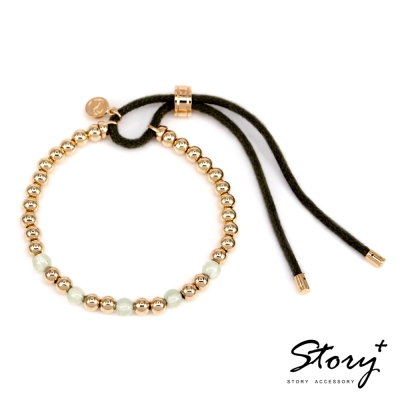 STORY ACCESSORY-Ice Bubbles 天然葡萄石純銀手鍊