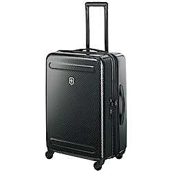 VICTORINOX Etherius Illusion系列可擴充26吋硬殼行李箱-黑